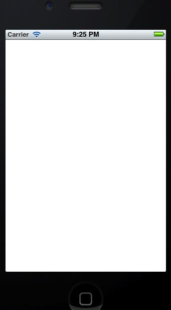 Blank iOS App