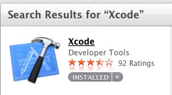 XCode in the App Store