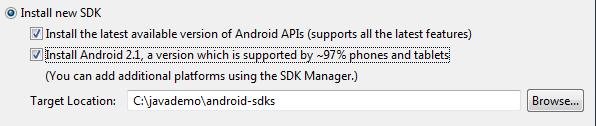adt sdk install