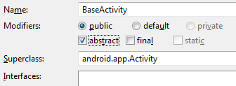 Android Day Six Base Activity