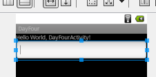 android day four edittext two