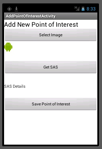 geo android new point of interest