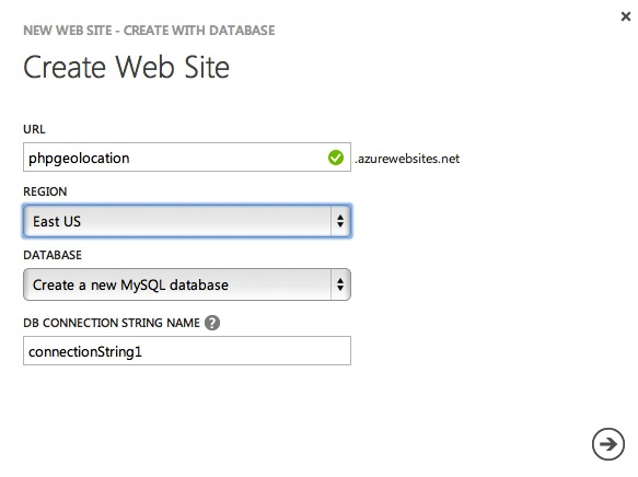 Mobile Geolocation Apps with Windows Azure Websites Part 1
