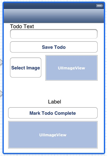 Mobile Services adding images UI