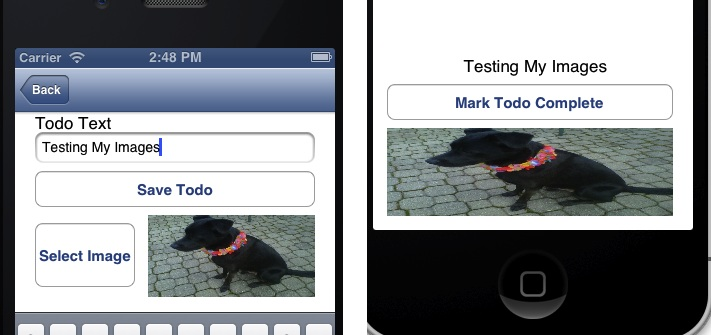 saving images in mobile services done