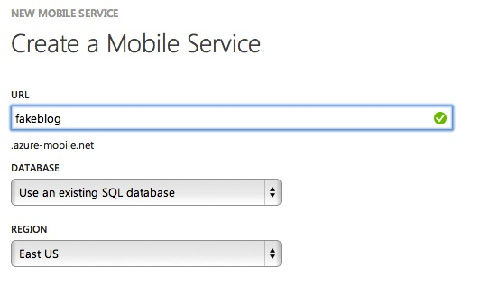 new fake blog mobile service