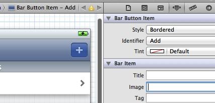 Navigation Controller Bar Button Item