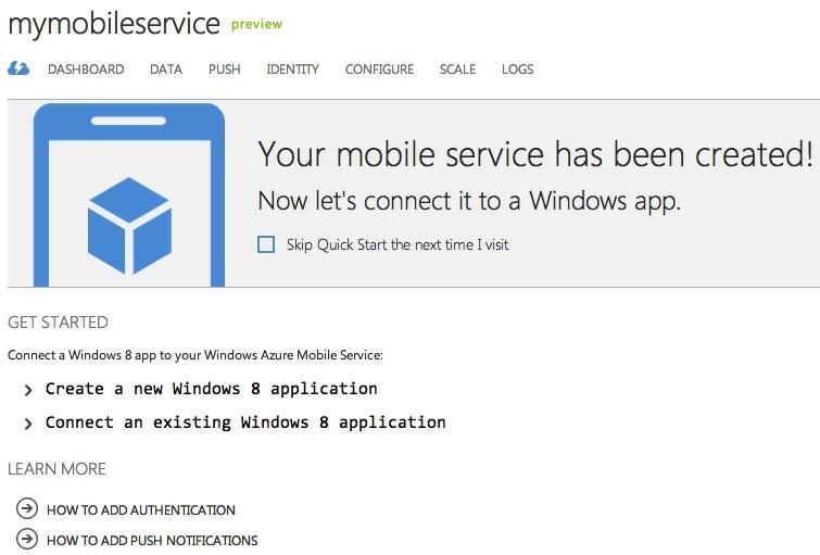 Mobile Service Dash