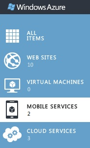 Mobile Services in Portal