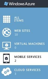 Mobile Services in Portal